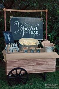 Blog - Popcorn bar